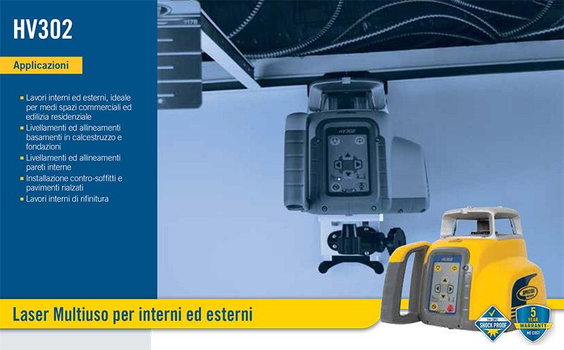 Spektra hv 302 il laser di nuova generazione - Laser per piastrellisti ...